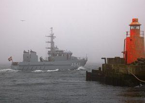 Dansk Marine skib - Scania DI16