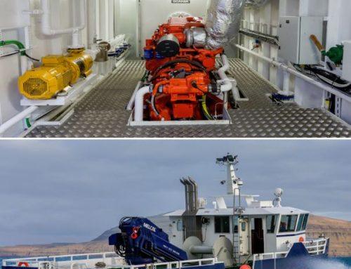 Nordhavn levering til 2 stk. katamaran arbejdsbåde