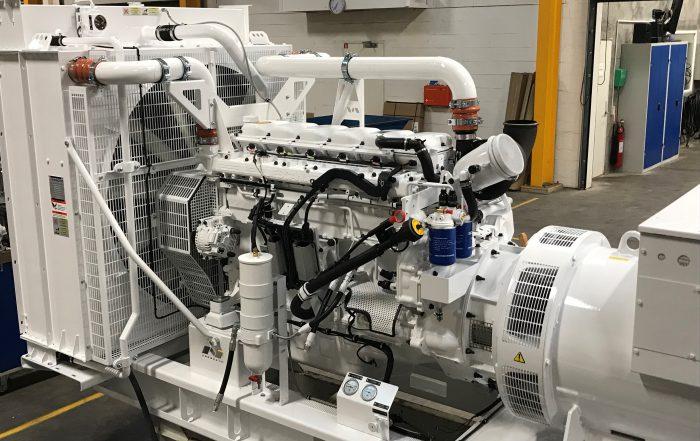 GASC 13-06, 280 kWe klar til afsendelse, til tysk værft