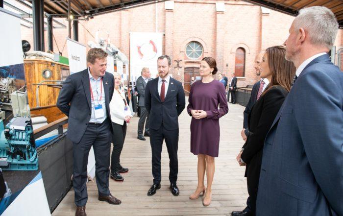 CSO, Jørk Rudolph på officielt dansk erhvervs fremstød i Finland, med HKH Kronprinsesse Mary