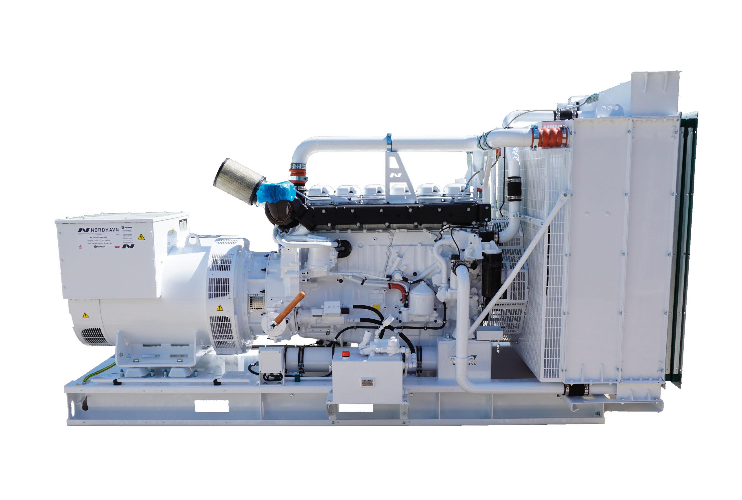 Generator- og nødstrømsanlæg