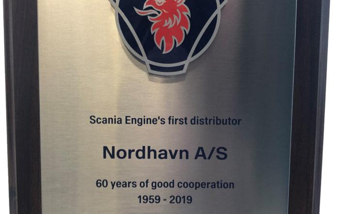 Plakette fra Scania