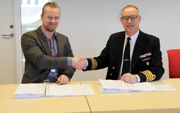 Rammeaftale indgået med Forsvaret