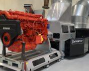 Dynamometer - klar til test