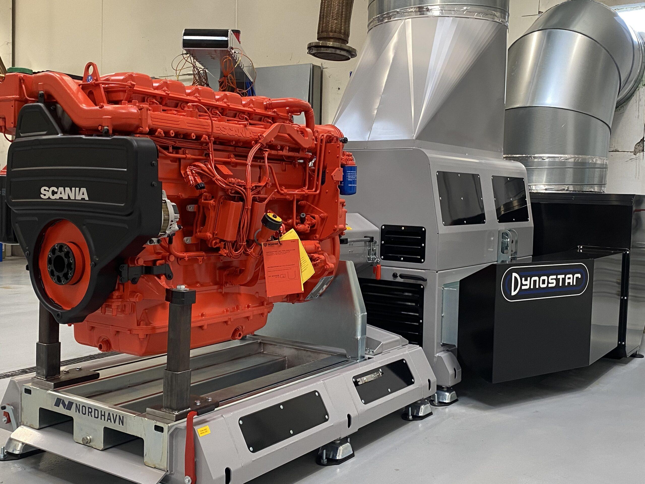 Test center - Engine