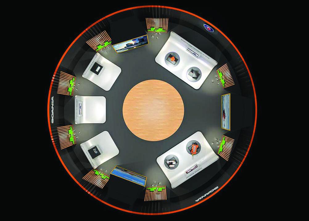 Scania virtuel showroom