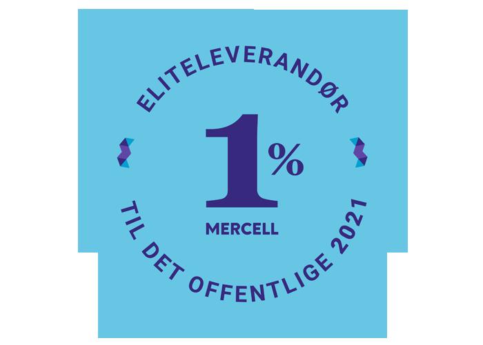 Eliteleverandør badge