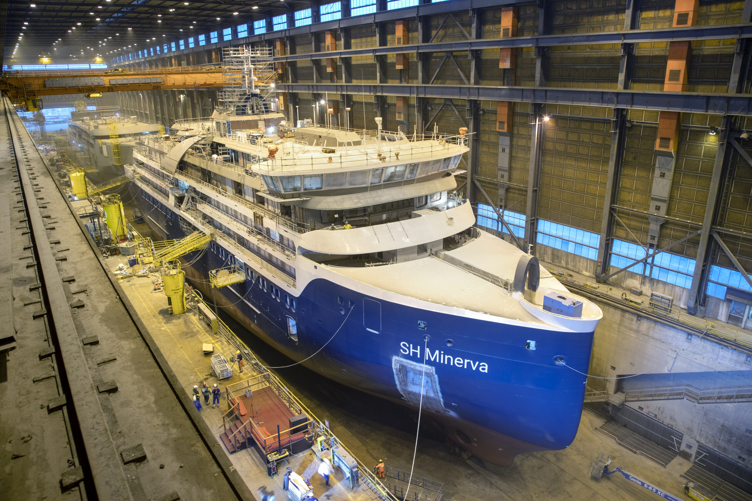 Expedition Cruise NB516 under Construction